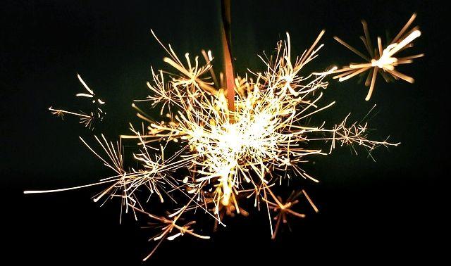 今日のラッキーアイテム「花火」