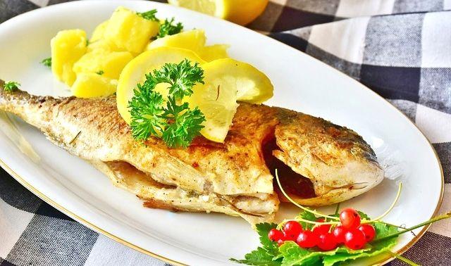 今日のラッキーアイテム「魚料理」