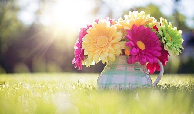 今日のラッキーアイテム「花束」
