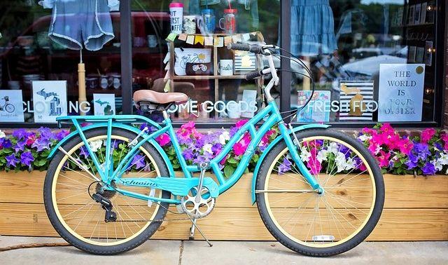 今日のラッキーアイテム「自転車」の画像
