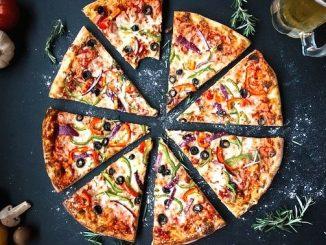 今日のラッキーアイテム「ピザ」