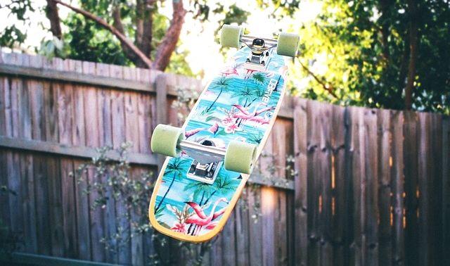 今日のラッキーアイテム「スケートボード」
