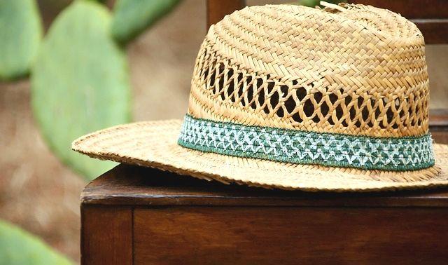 ラッキーアイテム「麦わら帽子」