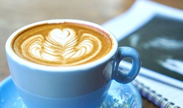今日のラッキーアイテム「カフェラテ」