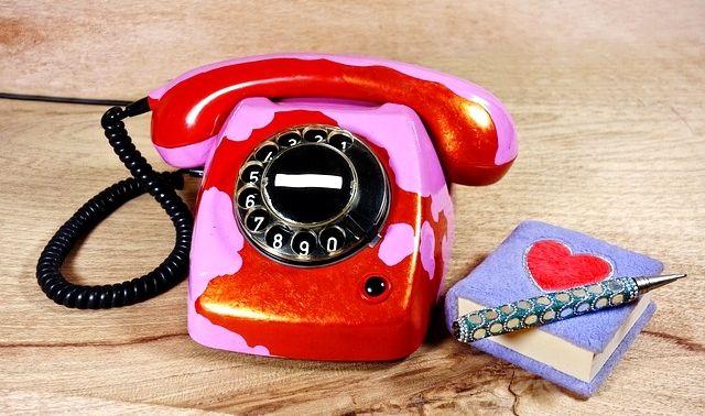 今日のラッキーアイテム「電話機」