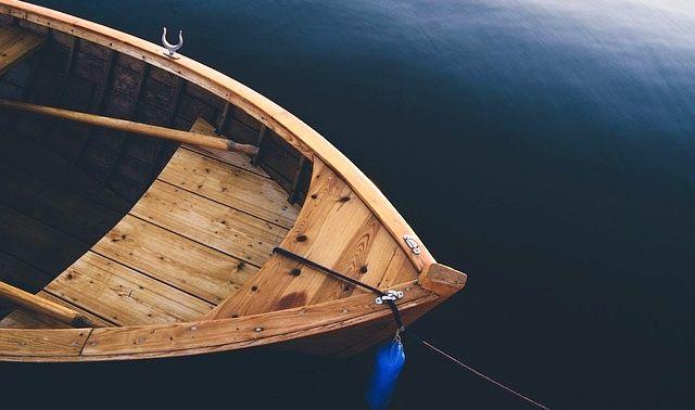 今日のラッキーアイテム「ボート」