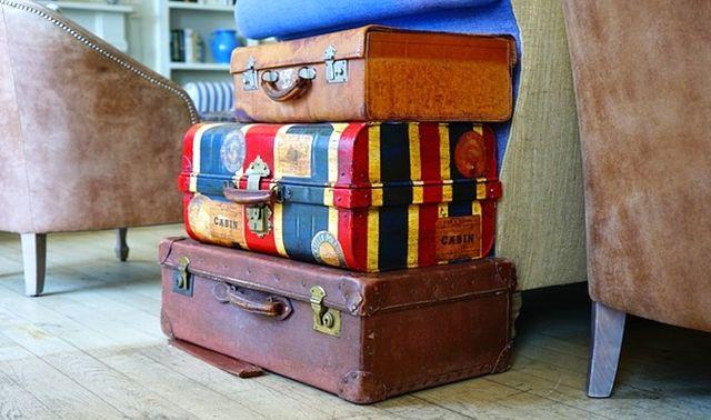 今日のラッキーアイテム「スーツケース」