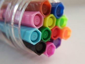今日のラッキーアイテム「カラーペン」