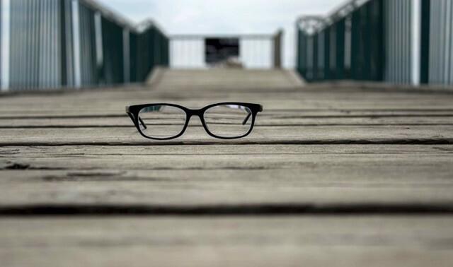 今日のラッキーアイテム「眼鏡」