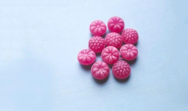 今日のラッキーアイテムキャンディ」