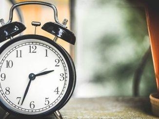 今日のラッキーアイテム「目覚まし時計」