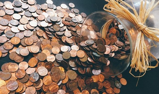 今日のラッキーアイテム「コイン」