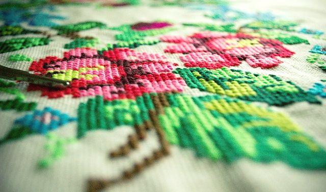 今日のラッキーアイテム「刺繍」