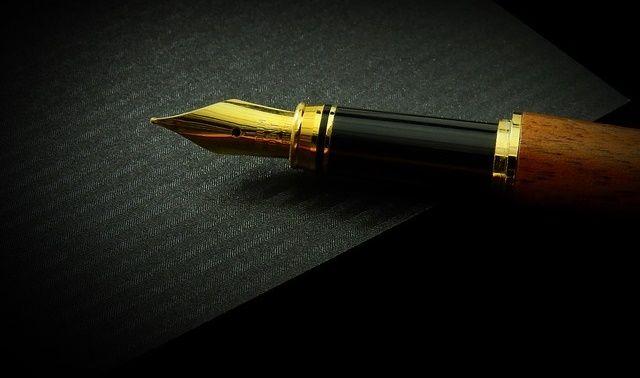 今日のラッキーアイテム「ペン」