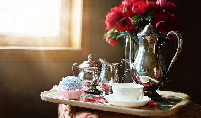 今日のラッキーアイテム「紅茶」