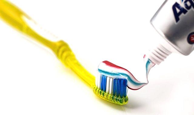 今日のラッキーアイテム「歯ブラシ」